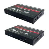 HDMI over a Single (Single or Multi Mode) LC Fiber Cable (1,000 ft.), 4K x 2K \ 60hz (4:4:4) Balun