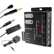 6 Port IR Distribution Block, IR Receiver, IR Emitter, 12Vdc Power Supply