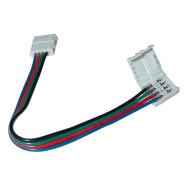 "RGB Flexible Coupler 4-Wire, 5""'long"