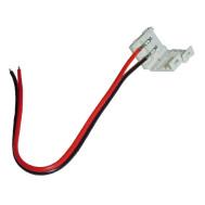 """Single Color 2-Wire L.E.D Strip to Power, 5"""" long"""