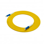 55-690-100, 100 ft. LC Male to Male Simplex, 2mm, OFNR Fiber Optic Cable