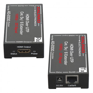 HDMI Balun Over Single Cat5e/ Cat6 Cable (Sold in Pairs)