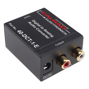 Digital to Stereo Audio Converter, Compact Size
