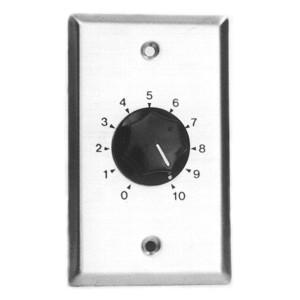 10 Watt 8 Ohm Audio Line Attenuator- Stereo
