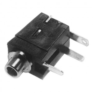 2.5mm Mono Jack Circuit Mount