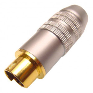 Pro Quality SVHS Plug for 8mm Cable