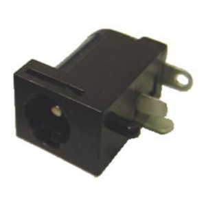 Locking 2.5mm Coax Power Jack, Circuit Mount