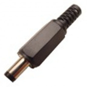 1.7mm Inline Coax Power Plug with Strain Relief