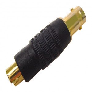 SVHS Plug to BNC Jack Adapter