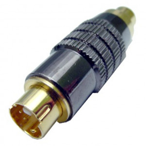SVHS Plug to RCA Jack Adapter