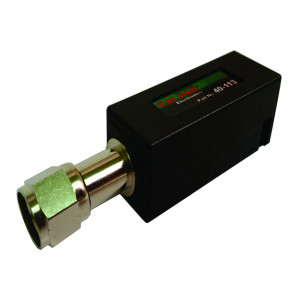 40-113, Fixed Length (2 Conductor) Tooless Punch Down Terminal Block to Coax 'F' Adapter RF Balun