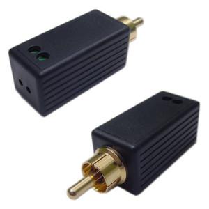 Passive Balanced Signal Converter Using UTP CAT 5, CAT 6 Cable (Pair)