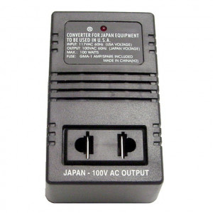 100 Watts Portable Travel Transformer