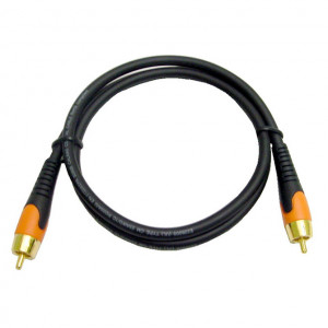 55-717A-12, (Integrator Series) RCA Male to RCA Male Molded Digital Audio Cable