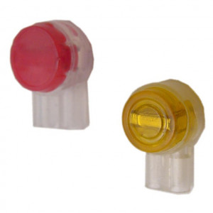 UG Gel Filled Yellow Connector, 2 Port 100 Pcs