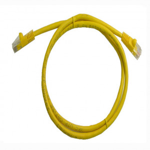Yellow RJ45 Snagless Cable - 1 GHz CAT 6, 75 Ft. Long