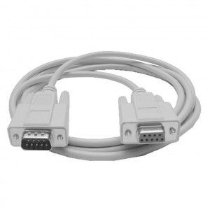 Serial (RS232) DB-9 Male to Female Cable, 3 Ft. Long