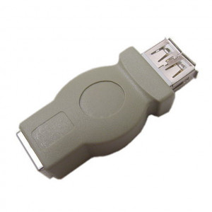 USB Type A Female to USB Type B Female Adapter