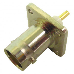 Chassis Mount BNC Female, 50 ohms