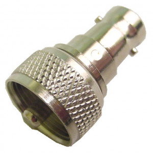 UHF Male to BNC Female Adapter