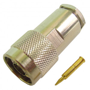 "Male ""N"" Connector for RG-8/11, 213/214"