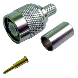 Male TNC Crimp-On Connector for RG-59/62