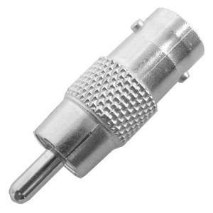 BNC Female to RCA Male Adapter, 75 Ohm, 10 Pcs