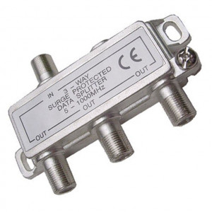 3 Way Balanced Digital Splitter, 1GHz