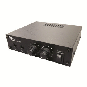 95-702 15 Watt AC/DC Public Address Amplifier (Front View)