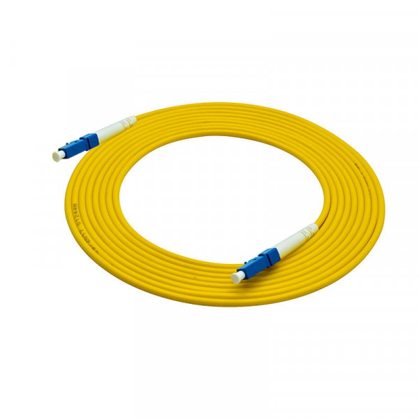 55-690-200, 200 ft. LC Male to Male Simplex, 2mm, OFNR Fiber Optic Cable